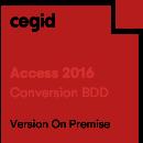 Conversion BDD Access 97/2000 -> Access 2016 - Cegid Quadra
